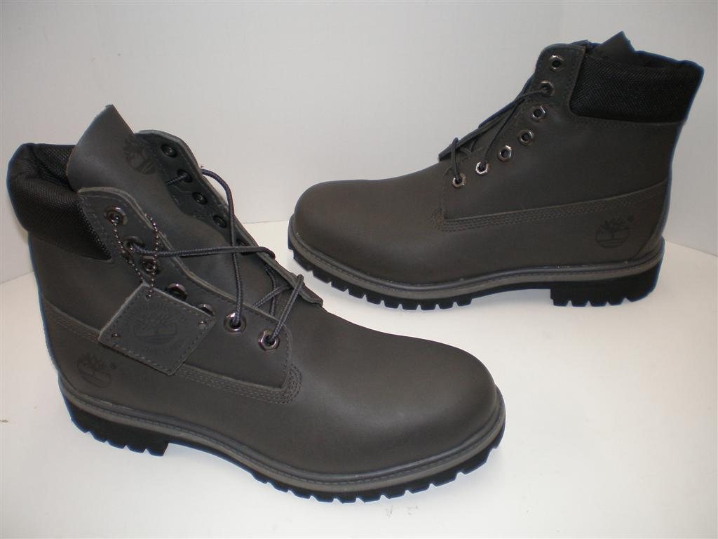 nib mens timberland 6 inch premium boots 6128 r grey