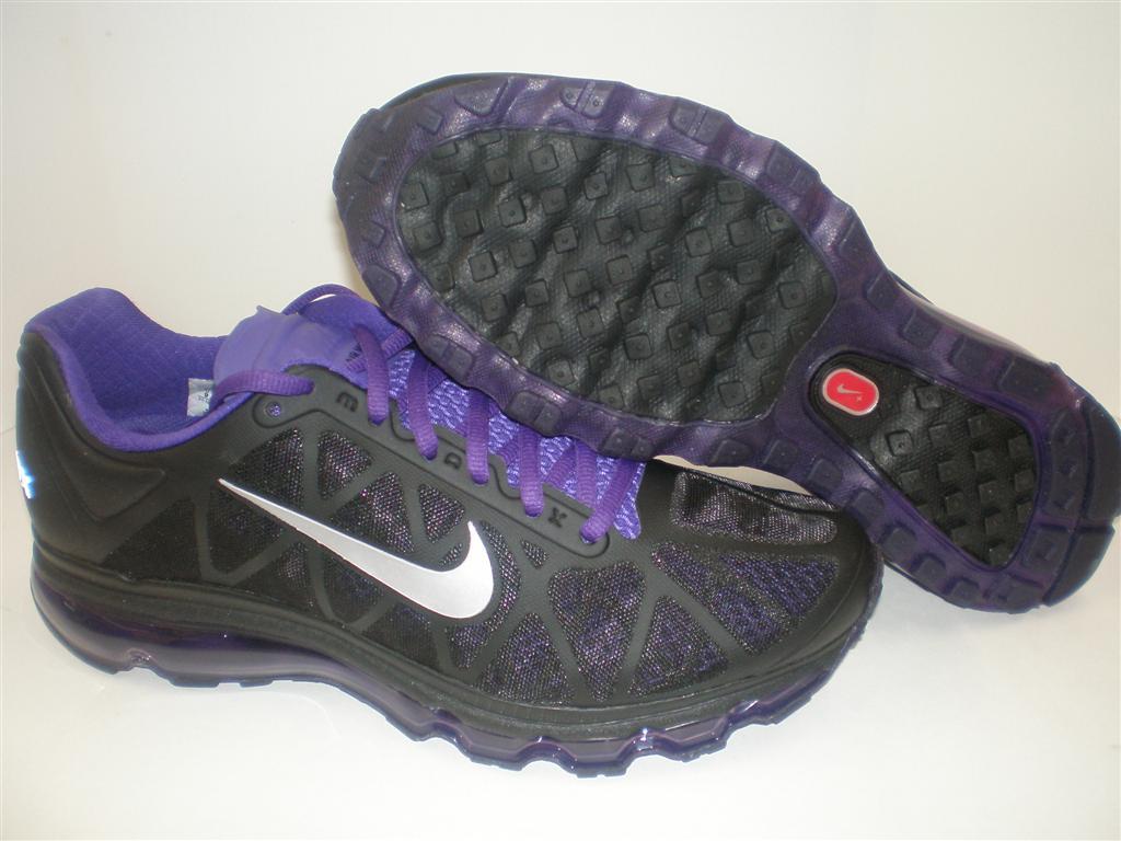 ddd0691426 NIB Mens Nike Air Max 2011 Black Metallic Grey Purple on PopScreen