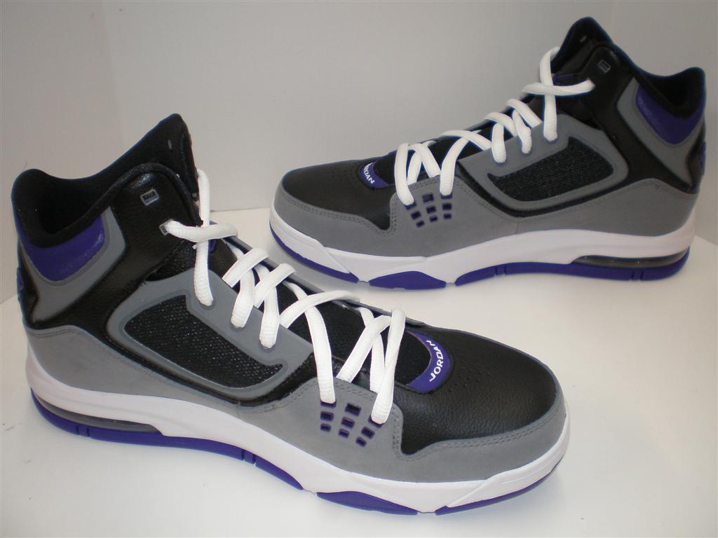 check out f8952 e1c83 Mens Nike Air Jordan Flight 23 RST Black White Cool Grey Club Purple