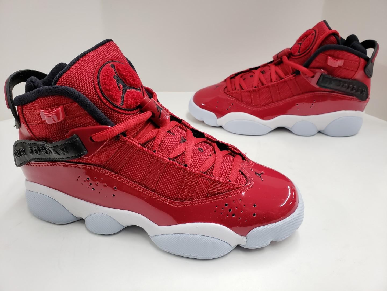 best loved 4767a 36c8c Details about NIB Nike Jordan 6 Rings (GS) Grade School Gym Red Black White  323419 601