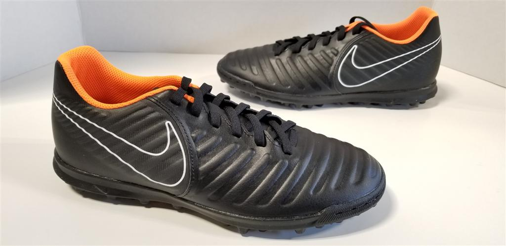 NIB MENS Nike TiempoX LegendX 7 Club TF Black Total Orange White AH7248 080