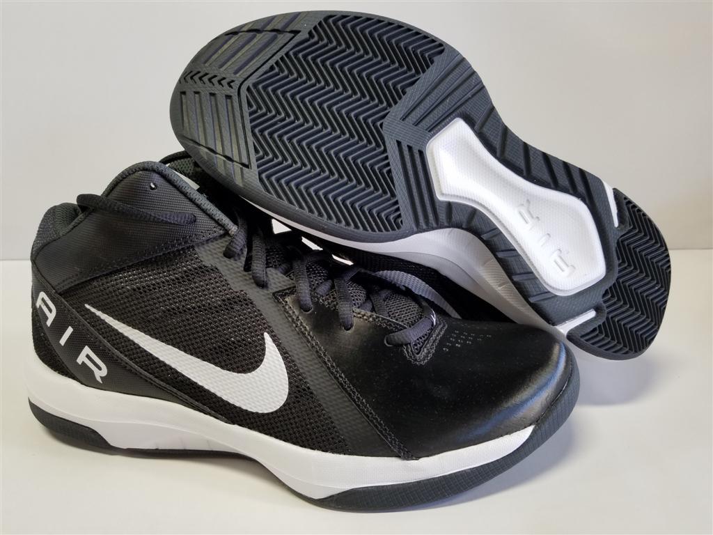 Details about NIB Mens Nike Air Overplay IX Black White Anthracite Dark Grey 831572 001